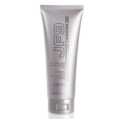 JF9 Chrome All-Over Hair & Body Shower Gel