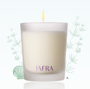 Spa Ginger and Seaweed Scented Candle 125gr