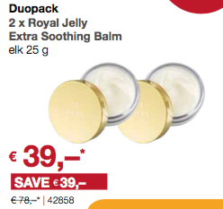 Duopack Royal Jelly Extra Soothing Balm