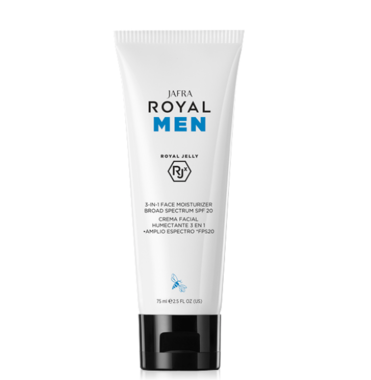 Men 3 - in - 1 Face Moisturizer SPF 20