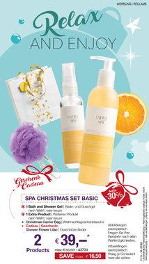 Spa Christmas Basic Set