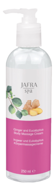 Spa Ginger  and  Eucalyptus Body Massage Cream
